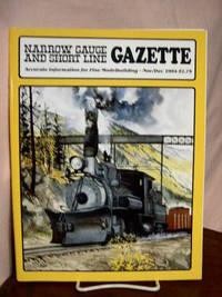 image of NARROW GAUGE AND SHORT LINE GAZETTE - NOVEMBER/DECEMBER, 1984; VOLUME 10, NUMBER 5
