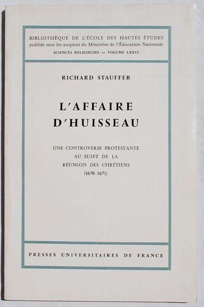 Paris: Presses Universitaires de France 1969, 1969. Paperback. Very Good. Signed by Author. Series: ...