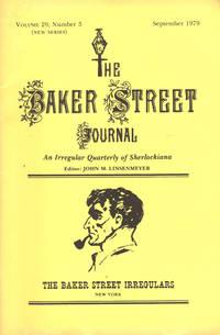 image of THE BAKER STREET JOURNAL ~An Irregular Quarterly Of Sherlockiana ~ September 1979