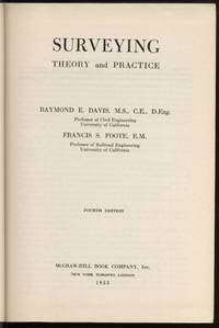 image of Surveying:  Theory and Practice