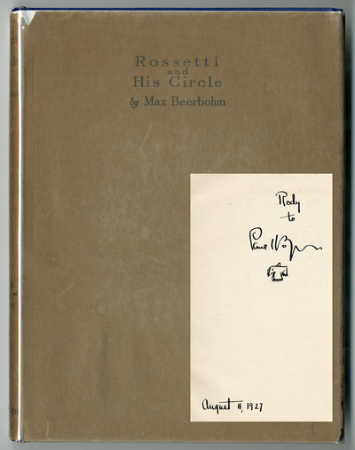 London: Heinemann, 1922. Quarto. Gilt blue cloth. First edition, trade issue. Frontis and 22 mounted...