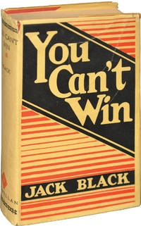 You Can't Win (First Edition)