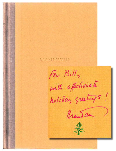 NY: Harcourt Brace Jovanovich, 1973. Hardcover. Very good. First Edition. Spine sunned lacking the g...
