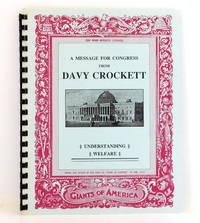 A Message for Congress from Davy Crockett: Understanding Welfare