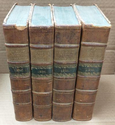 Leizig: M.G. Weidmanns Erben und Reich, 1786-1787. First edition. Octavo, four volumes. Each volume ...
