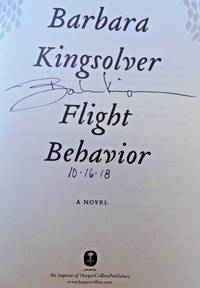 FLIGHT BEHAVIOR (SIGNED, DATED)