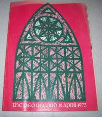 The P.E.O. Record: The Official Publication of the PEO Sisterhood, April 1973
