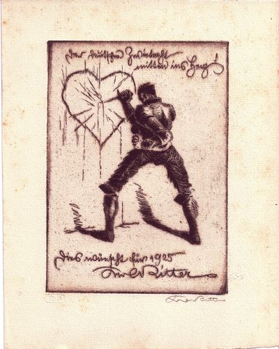 Munich: Heinrich Graf, 1923 - 1925. First Edition. Wraps. Occasional foxing. Near Fine and very scar...