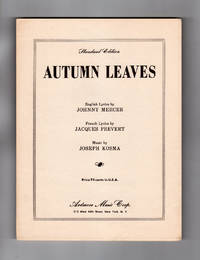 Autumn Leaves Lyrics
