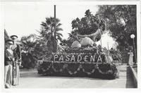 1933 Tournament of Roses Parade and Rose Bowl Photographs