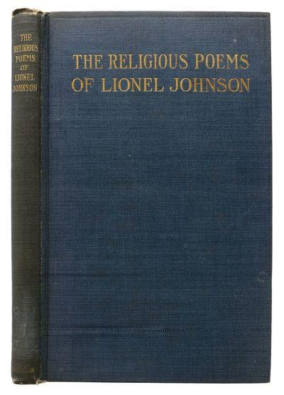 New York / London: The Macmillan Co. / Elkin Mathews, 1916. 1st trade edition. Original publisher's ...