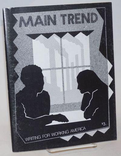New York: Main Trend, 1981. 66p., staplebound magazine, wraps lightly shelfworn else very good. Orig...