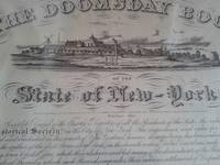 image of Certificate of Record for the family of Stephen H. Thayer from The Doomsday Book of the State of New York.