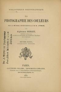 PHOTOGRAPHIE DES COULEURS PAR LA MÉTHODE INTERFÉRENTIELLE DE M. LIPPMANN
