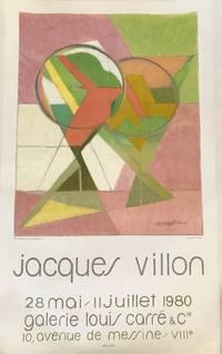 JACQUES VILLON. 28 Mai-11 Juillet 1980. Galerie Louis Carre & Co. (Original Poster)