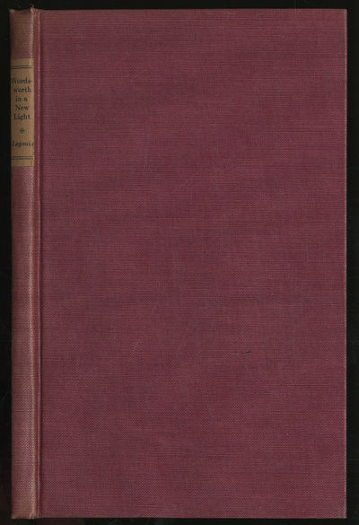 Cambridge, Massachusetts: Harvard University Press, 1923. Hardcover. Very Good. First American editi...