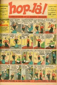 Hop-Là! L'Hebdomadaire de la Jeunesse Moderne. Year 1, No. 1 (n.d., December 1937) through Year 3, No. 130 (2 June 1940)