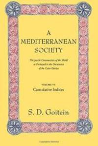 A Mediterranean Society: The Jewish Communities of the Arab World as Portrayed in the Documents of the Cairo Geniza, Vol. VI: Cumulative Indices (Near Eastern Center, UCLA) by S. D. Goitein - 2000-03-03