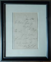 Charles Stewart Parnell Signature/Autograph 1881, House of Commons paper, Manuscript