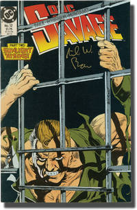 image of Doc Savage (Collection of 10 DC comic books, all signed by writer Mike W. Barr)
