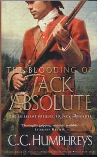 THE BLOODING OF JACK ABSOLUTE - uncorrected proof copy