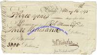Morris Endorses A Promissory Note From John Nicholson