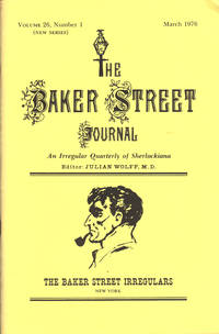 image of THE BAKER STREET JOURNAL ~ An Irregular Quarterly Of Sherlockiana ~ March 1976