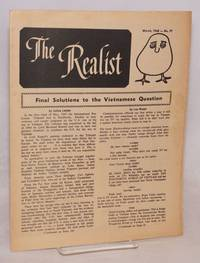The realist [no.77]; March, 1968.  Final solutions to the Vietnamese question