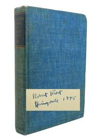 COLLECTED POEMS OF ROBERT FROST Signed 1st