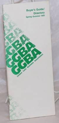 image of GGBA Buyer's guide/directory; Spring-Summer 1980