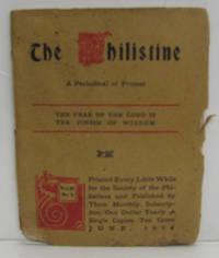THE PHILISTINE, JUNE 1908, VOL. 27, NO. 1