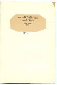 image of Report on Geological Observations in the Saguenay Region