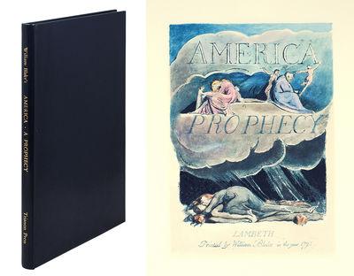 Folio. London: Trianon Press, 1963. Folio, 18 color facsimile leaves, 8 pages commentary. Full blue ...