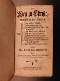 Der Weg zu Christo, verfasset in neun Büchlein