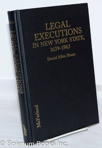 image of Legal Executions in New York State, 1639-1963