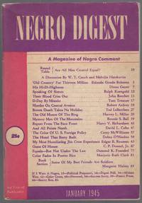 image of Negro Digest: A Magazine of Negro Comment. January 1945