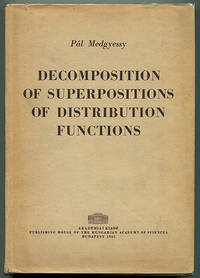 Decomposition of Superpositions of Distribution Functions
