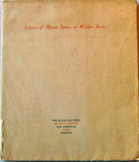 Letters of Henry James to Walter Berry