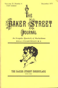 image of THE BAKER STREET JOURNAL ~ An Irregular Quarterly Of Sherlockiana ~ December 1975