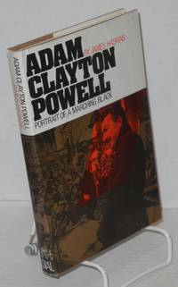 Adam Clayton Powell; portrait of a marching Black
