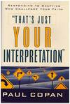 image of That's Just Your Interpretation