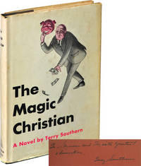 image of The Magic Christian (First Edition, inscribed to producer Si Litvinoff)