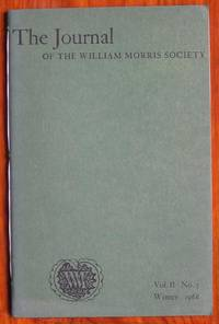 image of The Journal of the William Morris Society Volume II Number 3 Winter 1968