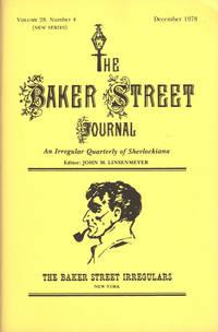 image of THE BAKER STREET JOURNAL ~An Irregular Quarterly Of Sherlockiana ~ December 1978