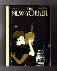 "The New Yorker - June 27, 2016.  Frank Viva ""Love"" Cover. Shadow Doctors in Syria; Hillary's Woman Card; Orlando Massacre; Politics of Gun Selling; Lee Berger & Hominid Fossils; Paul Theroux Fiction; ""Trump University"", Blitt Humor Panel; Baryshnikov Portrays Nijinsky; Brian De Palma; Robbie Fulks"