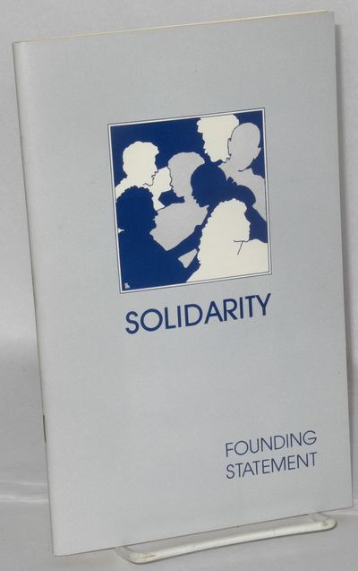 Detroit, MI: Solidarity, 1991. 44p., wraps slightly worn. First published in 1987.