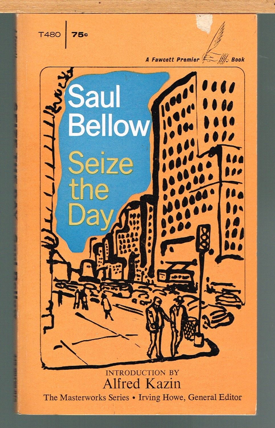 a review of saul bellows novel seize the day Buy saul bellow: letters by saul  human mess saul bellow s letters are a saul bellow novel,  seize the day and the victim saul bellow died.