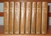 Oeuvres Completes De Moliere [ Complete in 8 Volumes, Leather Bound ]