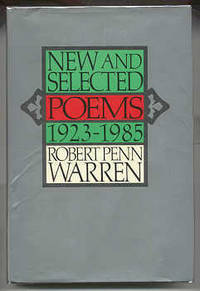 NY: Random House, 1985. First edition, first prnt. Inscribed by Warren to Random House editor Bert K...