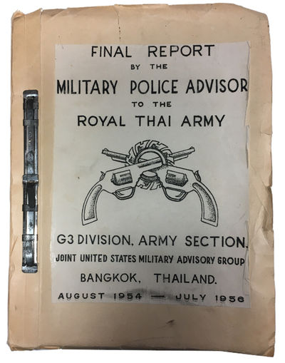 (Bangkok): G3 Division, Army Section, Joint United States Military Advisory Group, 1956. Paperback. ...